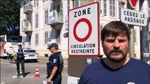 Circulation restreinte :  trois points de contrôle à Chambéry
