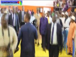 Funérailles du maire de Ratoma : le bref passage du président Alpha Condé