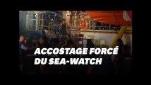 La commandante du Sea-Watch arrêtée par la police sous les applaudissements