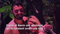 Carla et Kevin : émus, ils s'expriment pour la 1ère fois quant à l'arrivée de leur fille