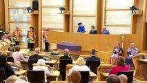 Queen celebrates 20th anniversary of Scottish Parliament