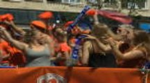 FOOTBALL: FIFA Women's World Cup: Netherlands fans take over Valenciennes ahead of World Cup tie