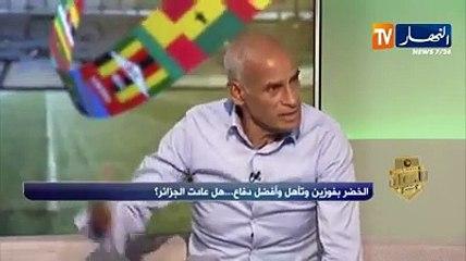 """محمود_قندوز :"""" #بلماضي عيّن من الشارع وليس لديه أي مشروع للمنتخب الوطني"""""""