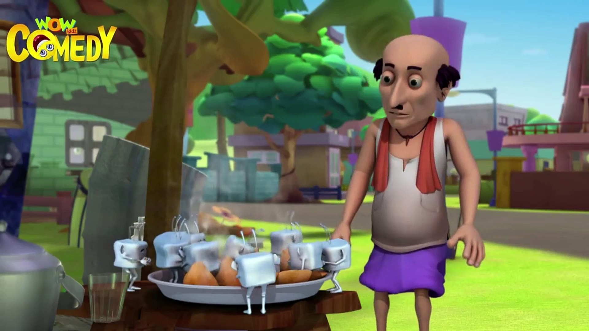 Shaitan Ice Cubes - Motu Patlu in Hindi - 3D Animated cartoon series for kids - As on Nick