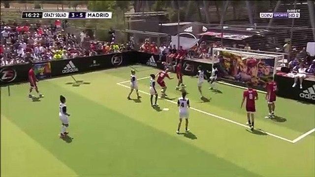 Zinedine Zidane with amazing goal - Crazy Squad 3 - [6] Madrid