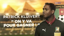 """Cameroun - Kluivert : """"On y va pour gagner"""""""