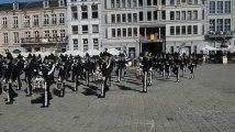 Mons: 130 musiciens norvégiens sur la Grand-Place