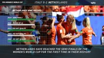 FOOTBALL: FIFA Women's World Cup: 5 Things Review - Italy 0-2 Netherlands
