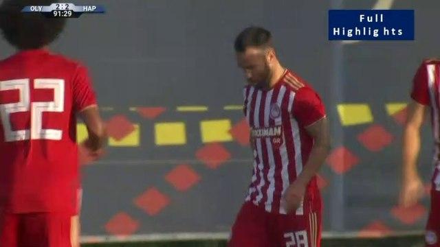 2-2 Mathieu Valbuena  penalty Goal - Olympiakos 2-2 Hapoel Beer Seva 29.06.2019