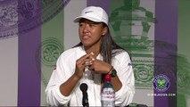 Japan's Naomi Osaka and Kei Nishikori share their thoughts before Wimbledon