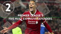 Premier League's five most expensive defenders