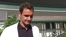 Roger Federer and Stefanos Tsitsipas speak ahead of Wimbledon 2019