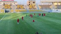 Séquence entrainement des Verts au stade de Petrosport avant la Tanzanie