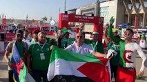 """Les supporters algériens à """"l'échauffement"""" avant le choc face au Sénégal !"""