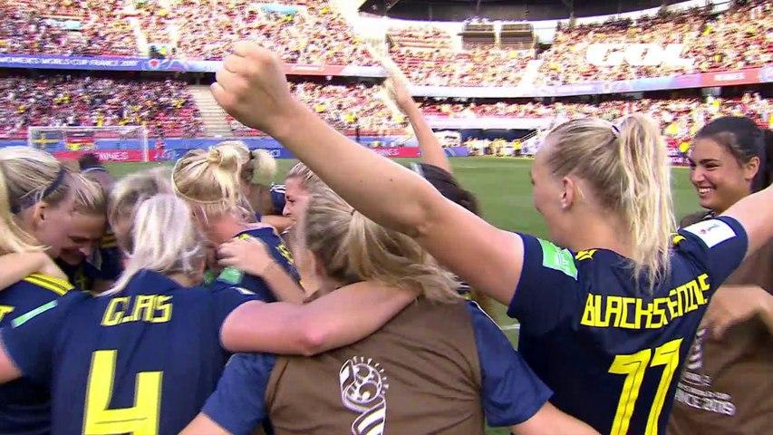Alemania-Suecia: vídeo, goles y resumen (cuartos de final) Francia 2019