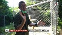 Le combat d'Aurélien pour sauver les gibbons de Bornéo, l'une des espèces les plus menacées au monde