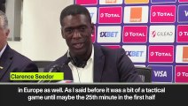 (Subtitled) Seedorf happy with 0-0 Ghana draw