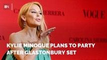 Kylie Minogue's Glastonbury Plans