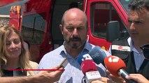Los Bomberos buscan parar el incendio de Almorox-Cadalso