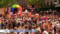 Gay Pride : Des milliers de personnes à Paris pour la Marche des Fiertés sous un soleil de plomb pour les 50 ans des émeutes de Stonewall à New York
