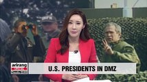 History of U.S. presidents visiting DMZ and their messages