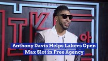 Anthony Davis Helps The Lakers Get Another NBA Star