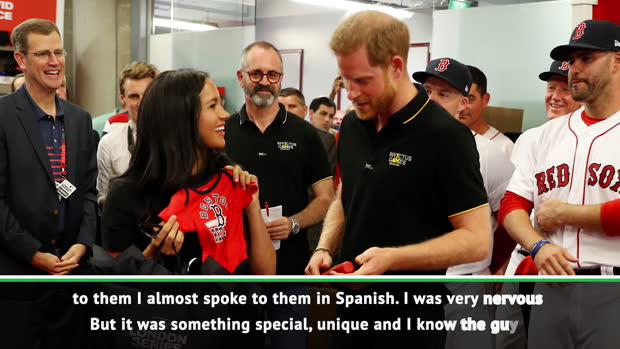 I was so nervous meeting royalty I almost spoke in Spanish – Red Sox manager