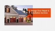Garage Door Repair & Installation Services - Garage Door Repair Canada