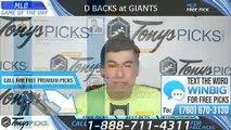 Arizona Diamondbacks vs San Francisco Giants 6/30/2019 Picks Predictions Previews