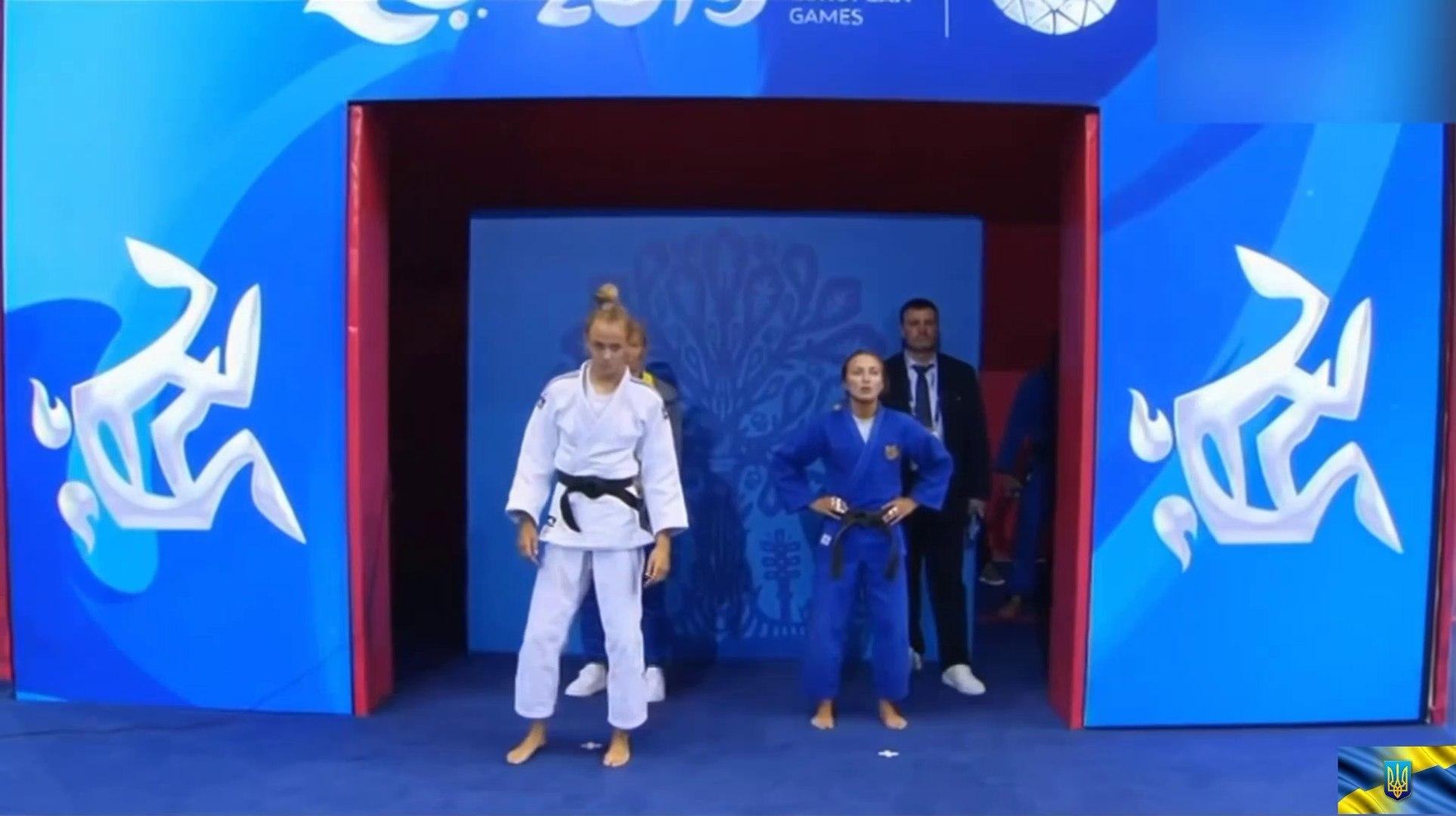 Ukraine vs Russia Judo girls final Украина против России Дзюдо девушки финал