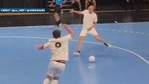 Le but de Zinédine Zidane lors d'un tournoi des Légendes