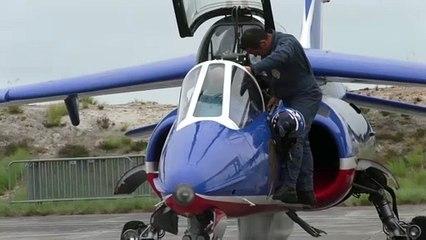Patrouille de France, la préparation d'avant-vol