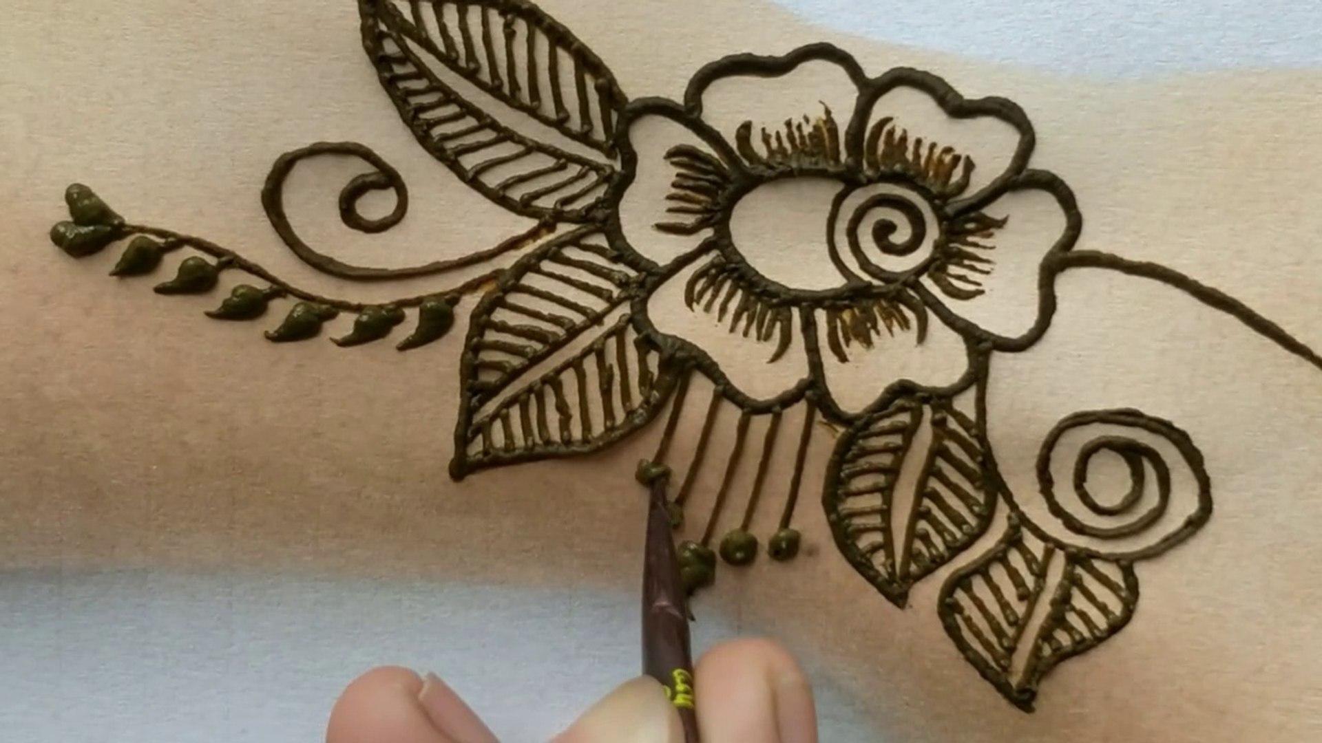 Very Simple Easy Beautiful Mehndi Designs Tutorial 2019 Latest Fancy Rose Henna Mehndi Designs Video Dailymotion,Cute Wedding Indian Lehenga Designs For Girls Wedding