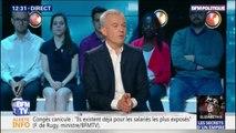 Pascal Canfin sera le président de la commission environnement au Parlement européen, affirme François de Rugy