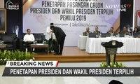 Terima Salinan Penetapan, Habiburokhman Cium Tangan Ma'ruf Amin dan Salami Jokowi