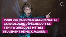 Mick Jagger en convalescence : un cardiologue l'assiste sur ch...