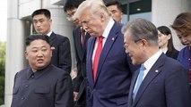 Donald Trump met un pied en Corée du Nord, inédit
