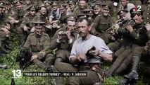 """Peter Jackson redonne vie aux Anglais de la Grande Guerre dans le documentaire """"Pour les soldats tombés"""""""