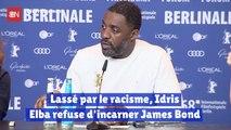 Lassé par le racisme Idris Elba refuse d'incarner James Bond