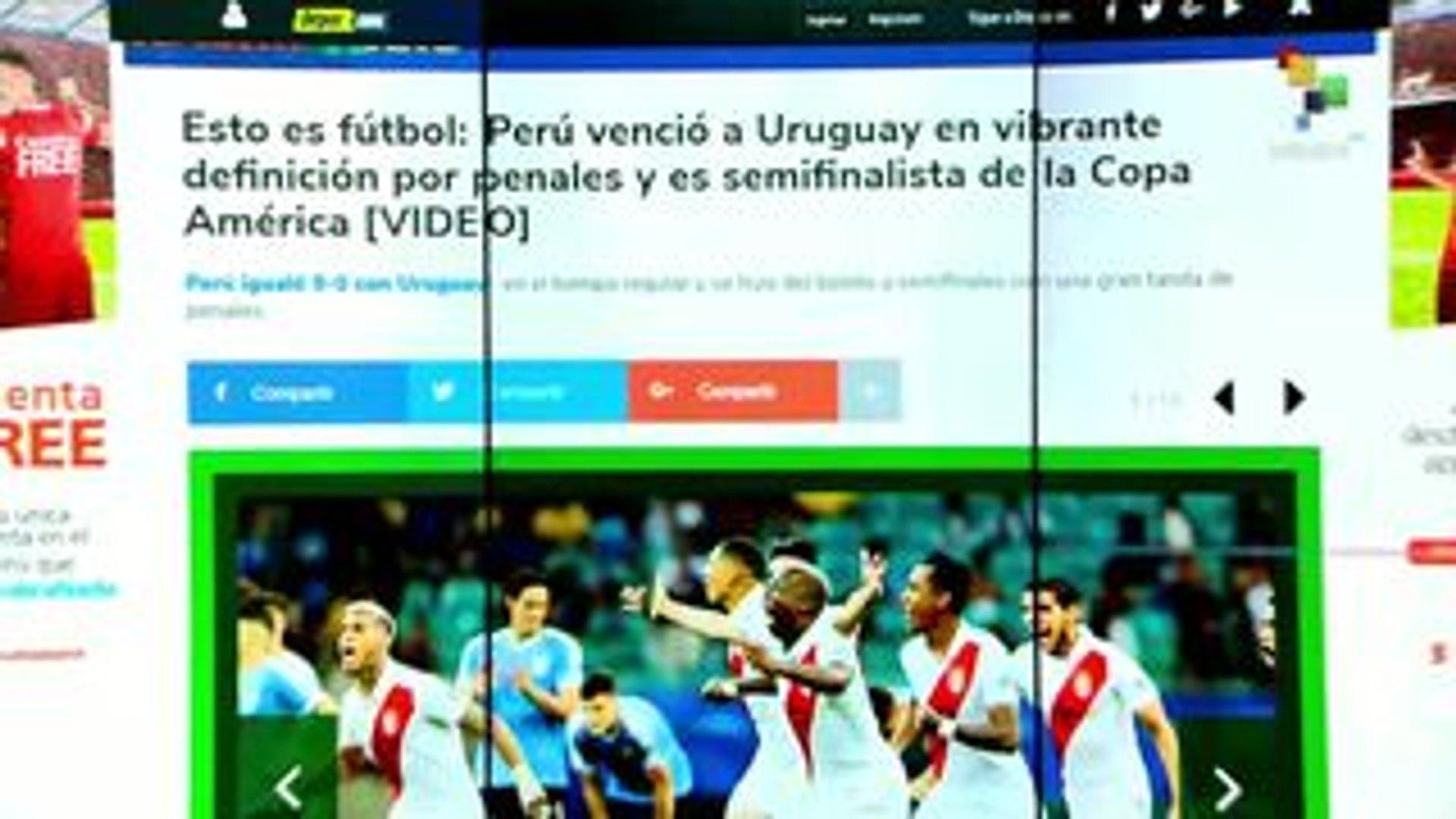 El Golazo de América: Perú pasa a las semifinales de la Copa América