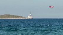 Mersin- Sondaj gemisi Yavuz, Mersin'e ulaştı