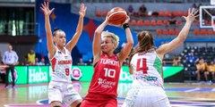 A Milli Kadın Basketbol Takımı, galibiyetle veda etti