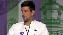 """Wimbledon 2019 - Novak Djokovic : """"I was not very happy to be part of the Federer-Nadal era at the beginning of my career"""""""