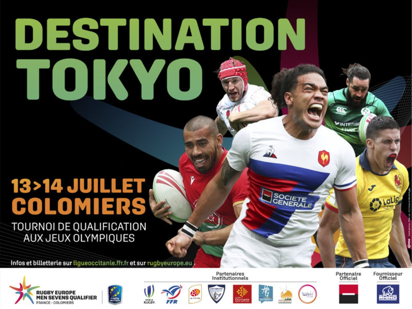 RUGBY EUROPE MENS SEVENS OLYMPIC QUALIFIER - COLOMIERS 2019