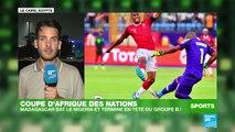 CAN-2019 : Sensationnel ! Madagascar qualifié pour les huitièmes de finale (2-0)