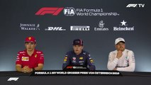 F1 2019 Austrian GP - Post-Race Press Conference