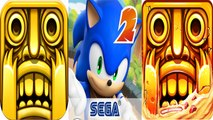 Temple Run 1 vs Sonic Dash 2 Sonic Boom vs Temple Run 2 — NEW Compilation