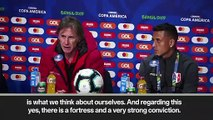 (Subtitled) Gareca praises Peru's 'strong conviction' ahead of their Copa America semi-final vs Chile