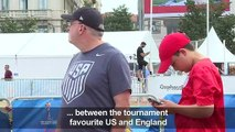 WC 2019: US supporters arrive in Lyon ahead of semi-final