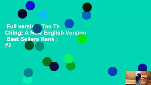 Full version  Tao Te Ching: A New English Version  Best Sellers Rank : #2
